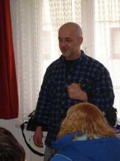 Bild vom Seminar bei Rolf Schweizer