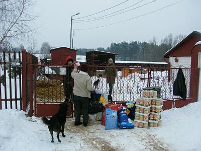 Bild von der Fahrt nach Polen