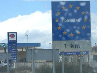 Bild von der Fahrt nach Portugal