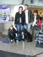 Bild vom Flug nach Portugal