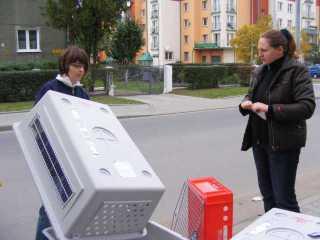 Bild von Sandra´s erster Fahrt nach Polen