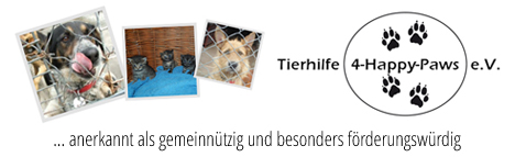 Tierhilfe 4-Happy-Paws e.V.
